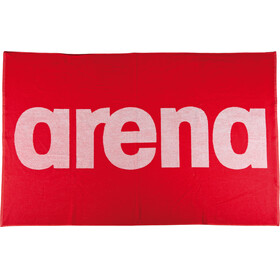 arena Handy Towel red/white